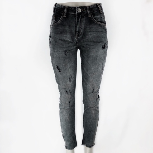 6b01c89498 ONE TEASPOON Black Heart Scallywag Jeans! Size 29.  M 5af644b6a4c4850c891010cc